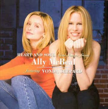 "2 cd's"" ally mcBeal/vonda shepard """