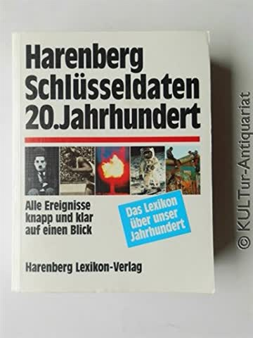 Harenberg Schlüsseldaten 20. Jahrhundert