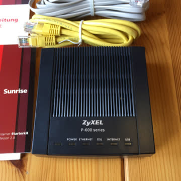 ZyXEL 660ME Router