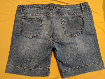 Ellen Amber Jeans Shorts (Size 44)
