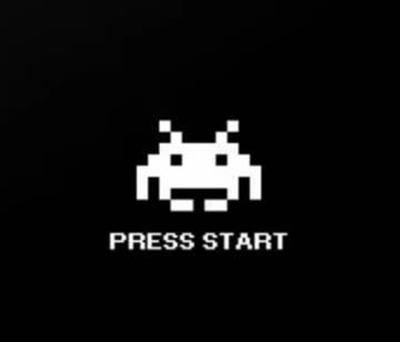8-Bit Press Start - Fruit of the Loom - Gamer Shirt