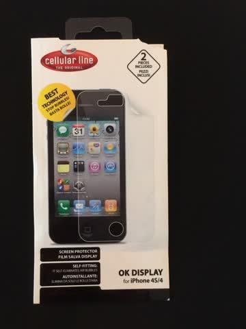 Schutzfolie für iPhone 4s/4