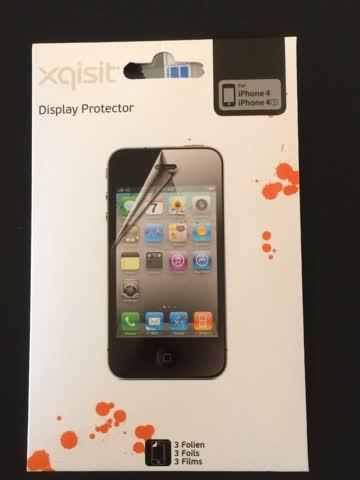 Schutzfolie für iPhone 4/4s