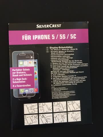 High-techschutzfolie für iPhone 5/5s/5c