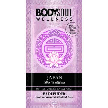 Body & Soul Badepuder Japan