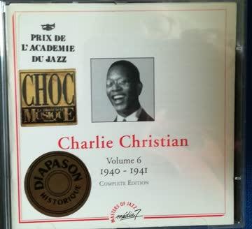 Jazz-rarität-cd: charlie christian