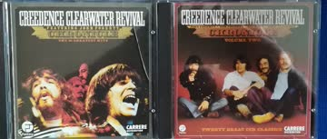 3 cd's von ccr (creedence clearwater revival)