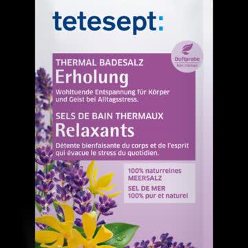 """tetesept Badesalz """"Erholung"""""""