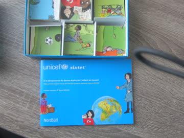 Kartenlegenspiel Unicef