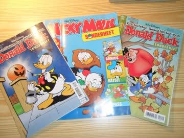 3 Sonderhefte von Walt Disney
