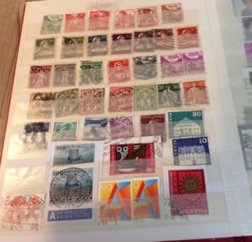 Briefmarken Album
