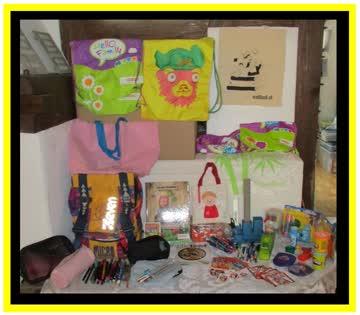 Büro Schul & Kinder Spiel Set Stifte Seven Rucksack Play-Doh