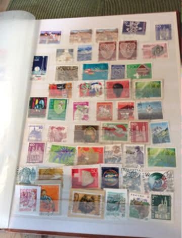 Grosses Briefmarkenalbum