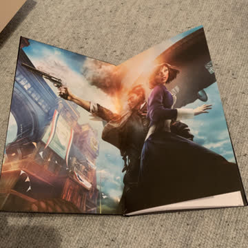 Notizbuch zum Game Bioshock Infinite
