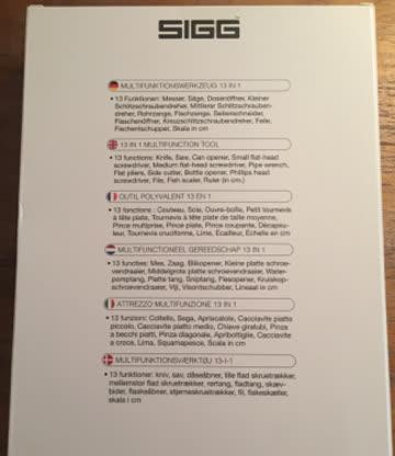 SIGG Multifunktionswerkzeug NEU