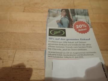 Gutschein Chicoree 20% Rabatt