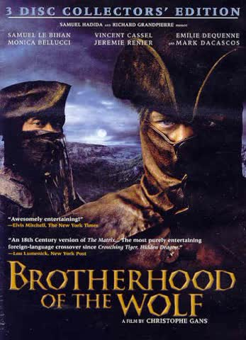 Brotherhood Of The Wolf (3 Disc Collector's Edition)
