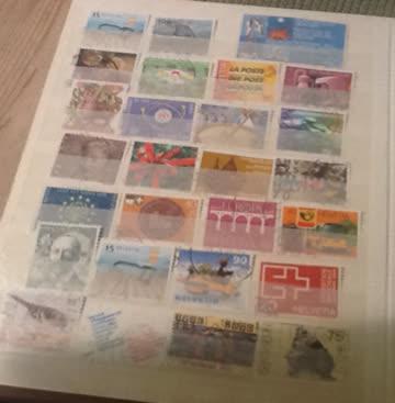schönes Briefmarken Album