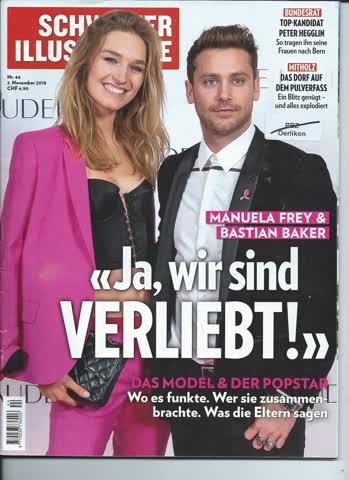 Schweizer Illustrierte Nr. 44 / 2. November 2018