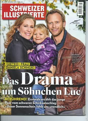 Schweizer Illustrierte Nr. 45 / 9. November 2018