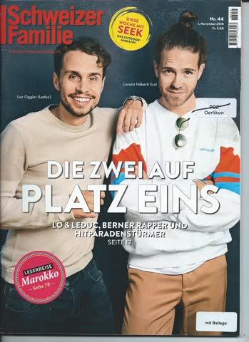 Schweizer Illustrierte Nr. 44 / 1. November 2018