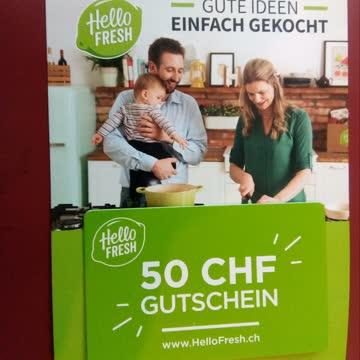 Hello fresh Gutschein