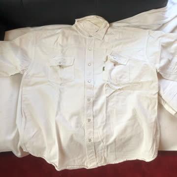 Weisses Kurz Hemd