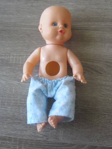 Kleine Puppe