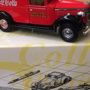 Matchbox COCA-COLA Brand 1937 GMC Van