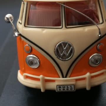 SCHUCO VW Bus T1 Samba mit Wohnanhänger