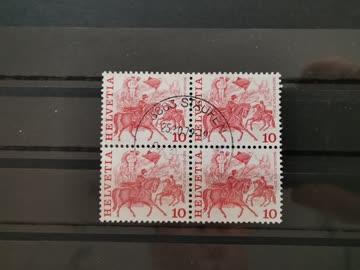 1977 Viererblock Helvetia Sechseläuten