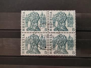 1977 Viererblock Helvetia Sternensinget