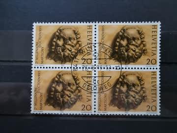 1983 Martigny Viererblock MiNr: 1256