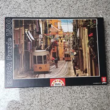 Puzzle Barrio Alto Lissabon 1500 Teile