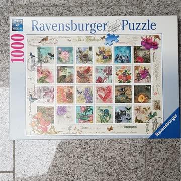 Puzzle Ravensburger Briefmarkensammlung