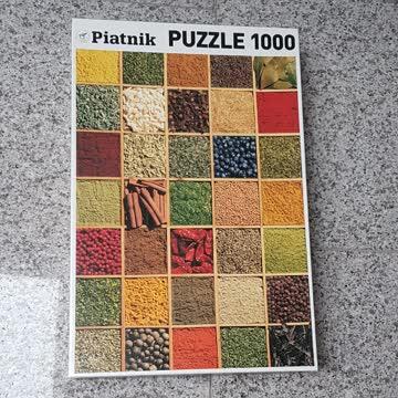 Puzzle Piatnik Gewürze 1000 Teile