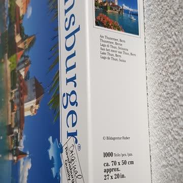Puzzle Ravensburger Am Thunersee Bern