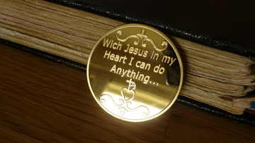 JESUS-GROSSE GEDENKMÜNZE