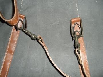 Handtasche Canvas und Echtleder