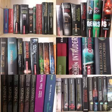 50 Bücher von Wolfgang Hohlbein