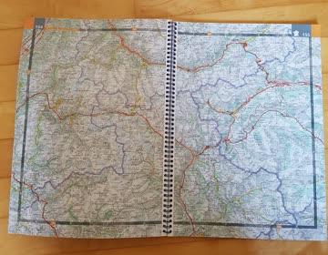 Frankreich Strassen-/Reiseatlass & ADAC Camping