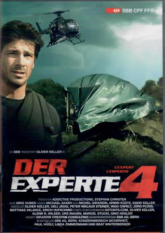 Die SBB präsentiert Oliver Keller in DER EXPERTE 4