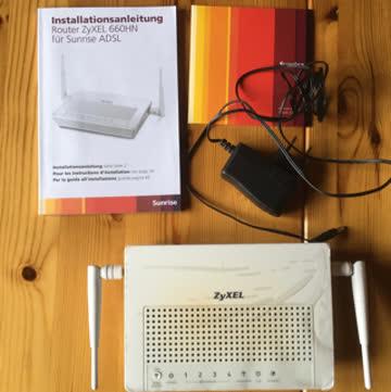 ZyXEL 660HN Router