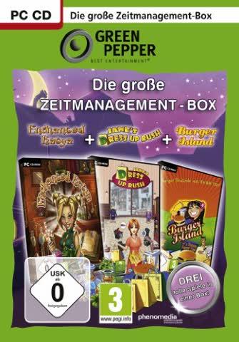 Die große Zeitmanagement-Box [Green Pepper]
