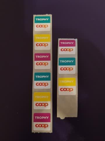 Trophy Coop Tupperware 8 + 4 Kleber