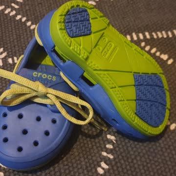 Neue ungetragene crocs sandallen orginal