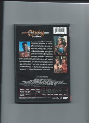 Conan the destroyer (english version, Code 1 USA)