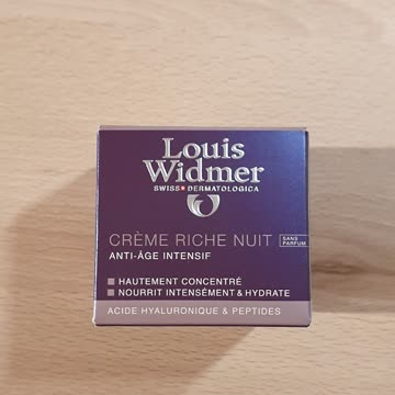 Louis Widmer creme riche nuit 50ml