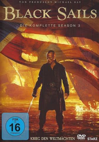 Black Sails - Season 3 [4 DVDs]
