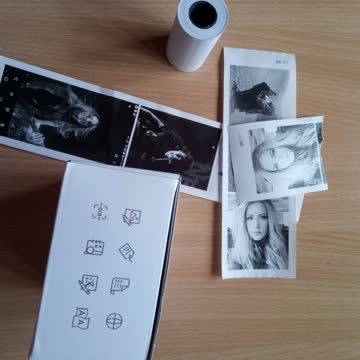 Mini Monochromedrucker - Peripage Pocketprinter